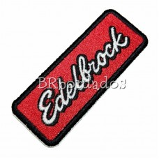 LOG371 EDELBROCK patch bordado 9x3,5 cm