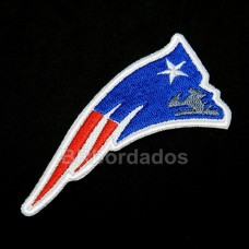 FSB001 Patriots Super Bowl Superbowl Patch Bordado 9x4,5 Cm