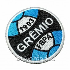 TRS042 Grêmio RS patch bordado 7 cm